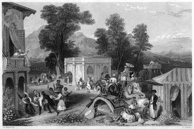 Death of Bishop Heber, India, 1826