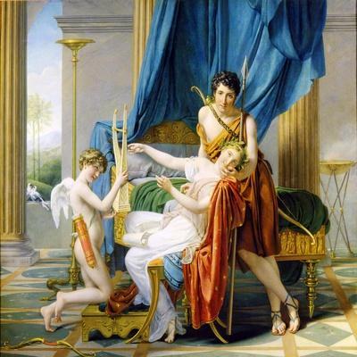 Sappho, Phaon and Cupid, 1809