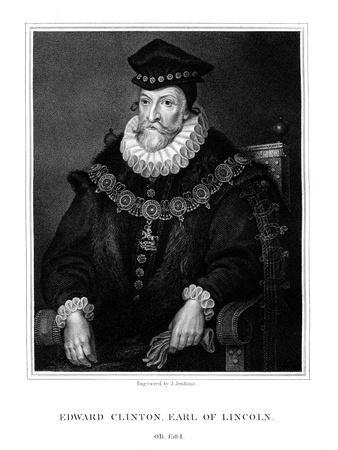 Edward Clinton, 1st Earl of Lincoln, English Admiral