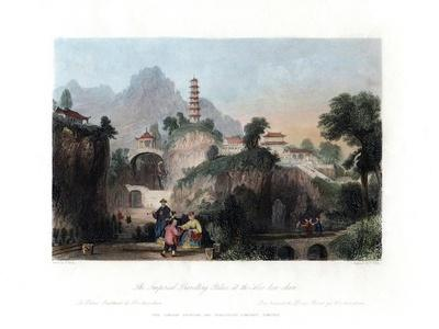 The Imperial Travelling Palace at the Hoo-Kew-Shan, China, C1840