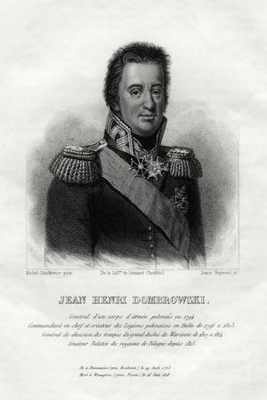 Jean Henri Dombrowski, Polish Military Commaner, 1845