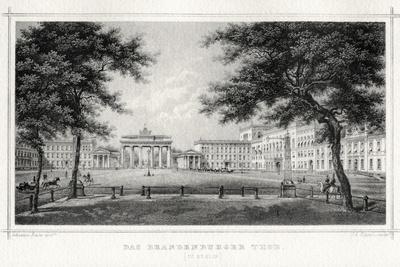 The Brandenburg Gate, Berlin, 19th Century