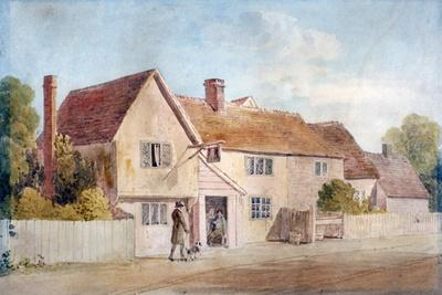 Cottages at Chadwell, Essex, 19th Century