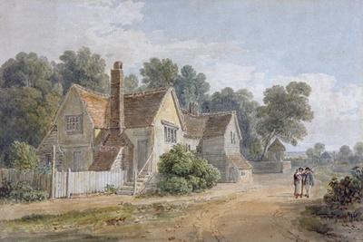 View at Dorking, Surrey, 19th Century