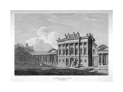 View of the South Front of the Bank of England, City of London, 1814