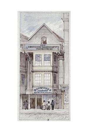 Raymond's City Pie House, Fleet Street, London, C1820