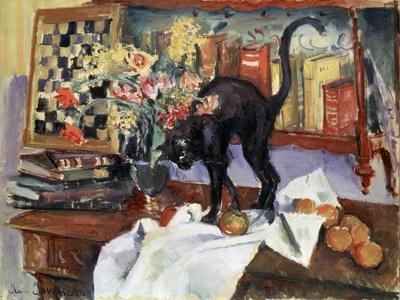 Still Life with a Cat, 1912