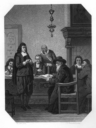 Benedict Spinoza, 17th Century Dutch Philosopher, C1870