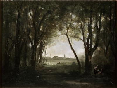 Scene Near a Lake, 1860-1873