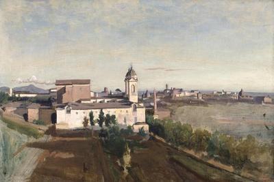 Trinita Dei Monti from the Villa Medici, C1830-1834