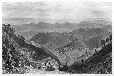 Mussoorie and the Dhoon Valley, India, C1860