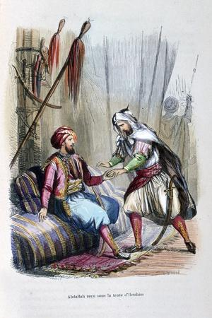 Abdullah Received in the Tent of Ibrahim Pasha, 1818