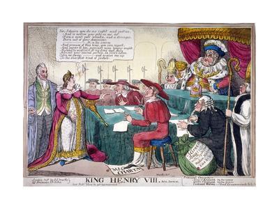 King Henry VIII, Act II, Scene IV, C1820