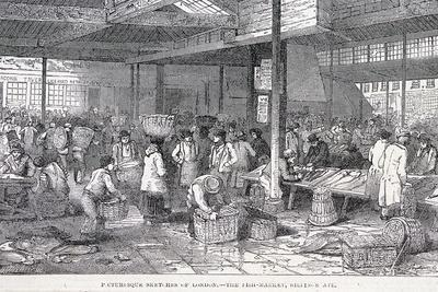 Billingsgate Market, London, 1814