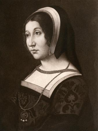 Unknown Woman, Formerly known as Margaret Tudor, C1520