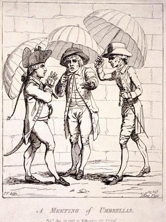 A Meeting of Umbrellas, 1782