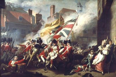 The Death of Major Peirson, 6 January 1781, 1783