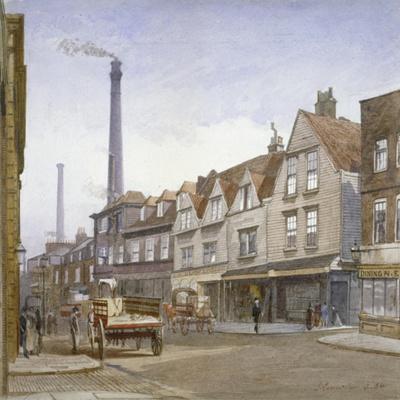 View of Mint Street, Southwark, London, 1884