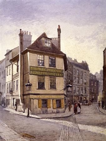 Northumberland Head Inn, Stepney, London, 1884