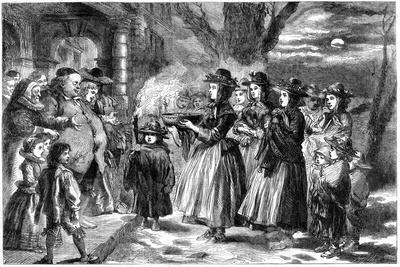 The Wassail Bowl, 1860