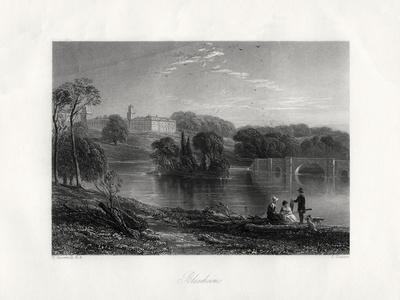 Blenheim, Oxfordshire, England, 19th Century
