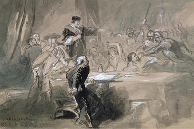 Arrest of Lord Hastings, C1856-1859