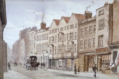 Fetter Lane, City of London, C1875