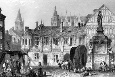Palace of the Duke of Bedford, Rouen, France, 19th Century