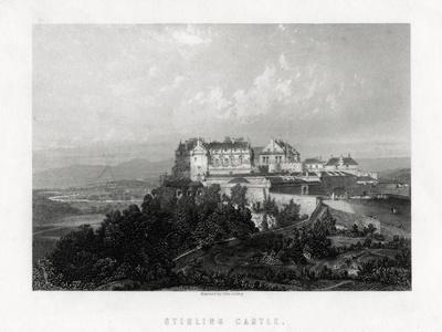 Stirling Castle, Scotland, 1883