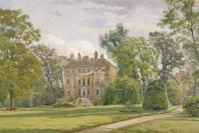 Garden Front of Wandsworth Manor House, St John's Hill, Wandsworth, London, 1887