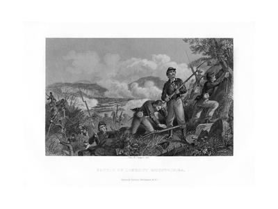 The Battle of Lookout Mountain, Tennessee, 24 November 1863 (1862-186)