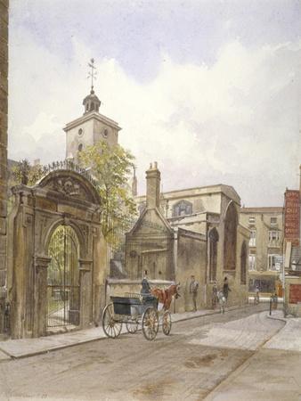 Church of St Olave, Hart Street, City of London, 1883