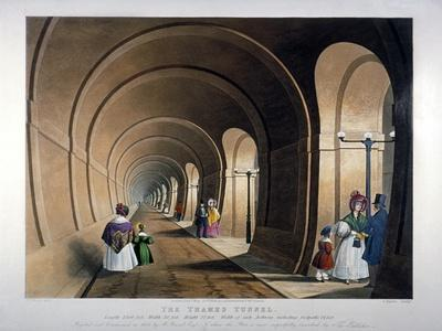 Thames Tunnel, London, 1835