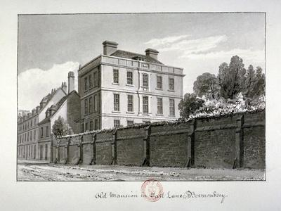 East Lane, Bermondsey, London, 1826