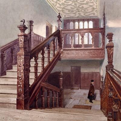 Charterhouse, London, 1885