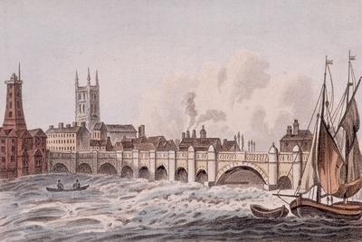 London Bridge, London, 1823