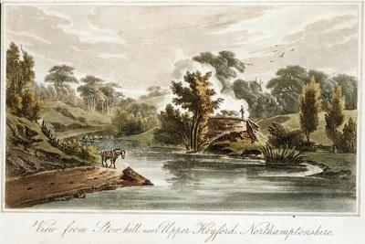 Grand Junction Canal from Stow Hill Near Upper Heyford, Northamptonshire, 1819