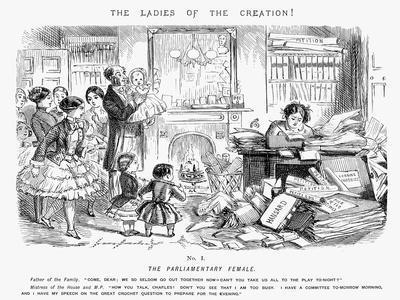 The Parliamentary Female, 1850