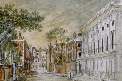 View Along Vigo Lane, City of Westminster, London, 1793