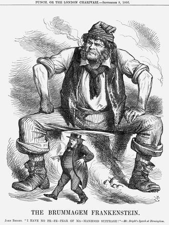 The Brummagem Frankenstein, 1866