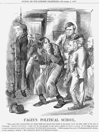 Fagin's Political School, 1867