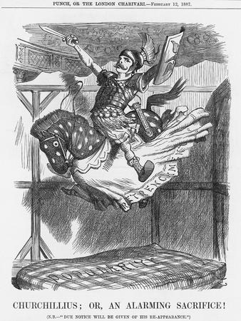 Churchillius; Or, an Alarming Sacrifice!, 1887