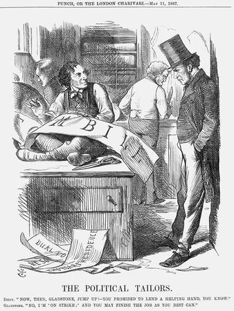 The Political Tailors, 1867