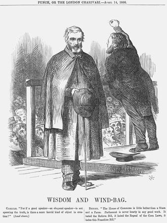 Wisdom and Wind-Bag, 1866