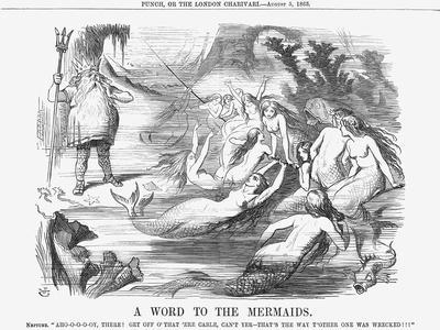 A Word to the Mermaids, 1865