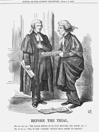 Before the Trial, 1867