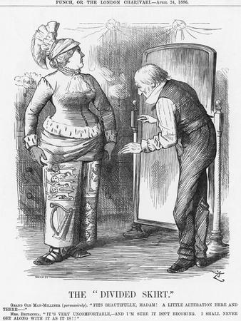 The Divided Skirt, 1886