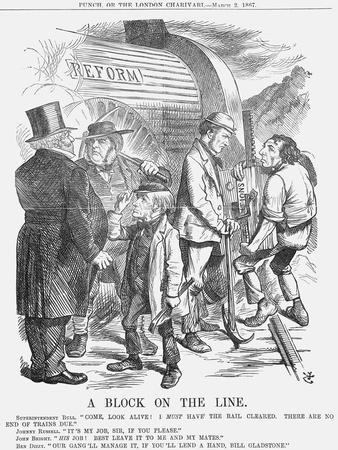 A Block on the Line, 1867