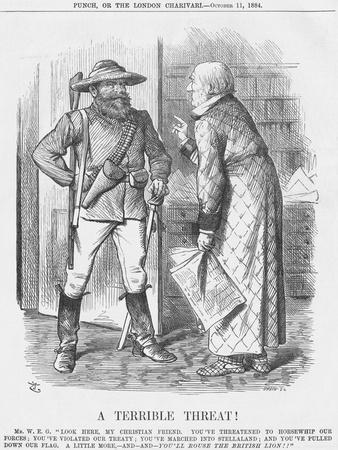 A Terrible Threat!, 1884