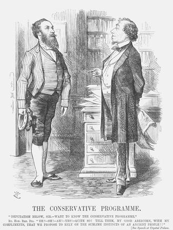 The Conservative Programme, 1872